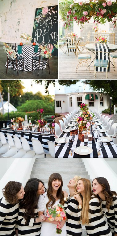 black-and-whitewedding